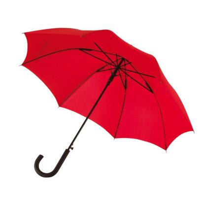 paraply_med_logotryck_rod