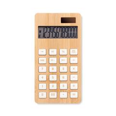 12-siffrig bambu miniräknare