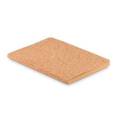 A5 cork soft cover notebook