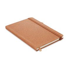 A5 notebook i återvunnen PU