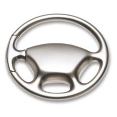 Bilrattsformad nyckelring