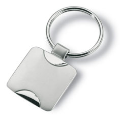 Kvadratformad nyckelring