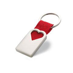 Nyckelring med hjärta
