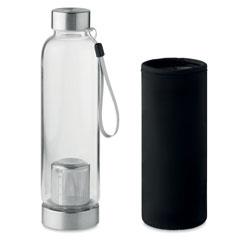 Single wall glass bottle
