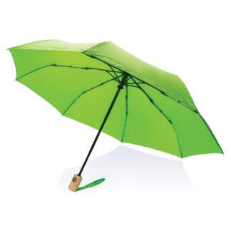 """21"""" RPET paraply med automatisk öppning/stängning"""