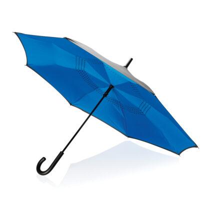 """23"""" manuellt vändbart paraply"""