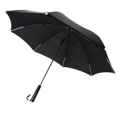 """23"""" LED paraply med manuell öppning/stängning"""