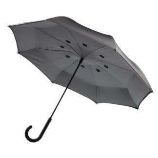"""23"""" vändbart paraply med automatisk stängning"""