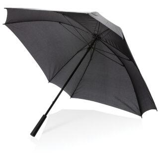 "27"" manuellt XL fyrkantigt paraply"