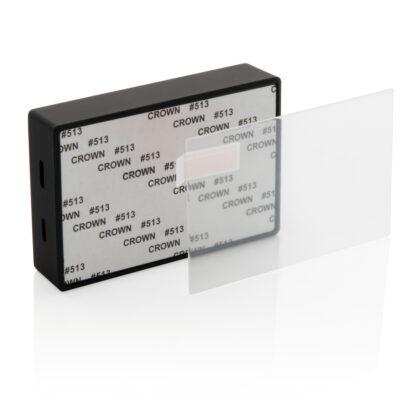 3W trådlös högtalare med härdat glas