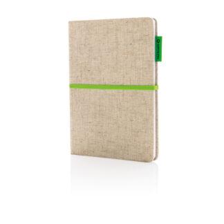 A5 Eco anteckningsbok i jute