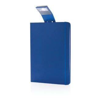 A5 anteckningsbok & LED bokmärke