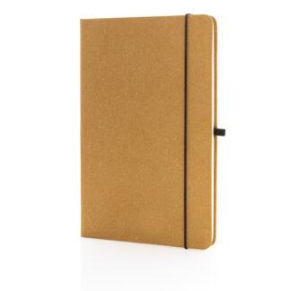A5 hardcover anteckningsbok i återvunnet läder