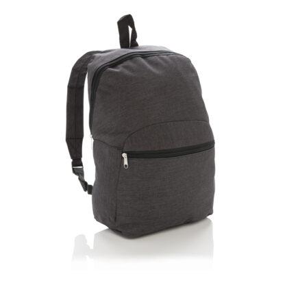 Basic ryggsäck i två färgtoner