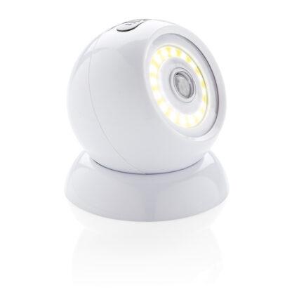 COB 360 lampa med rörelsesensor