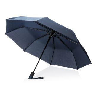 "Deluxe 21"" hopvikbart paraply med automatisk öppning"
