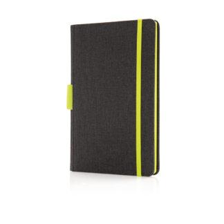 Deluxe A5 anteckningsbok med pennhållare