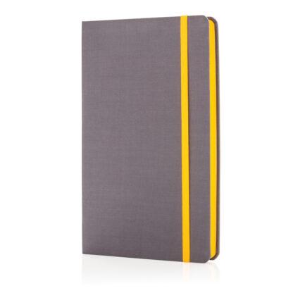 Deluxe anteckningsbok med tygpärm