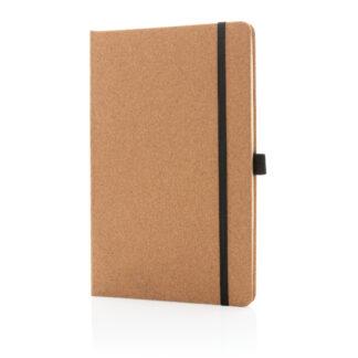 Kork A5 anteckningsbok hårt omslag