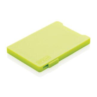 Korthållare RFID anti-skimming