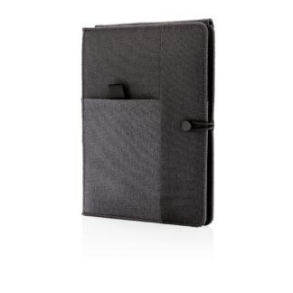 Kyoto anteckningsbok med 5W trådlös laddning