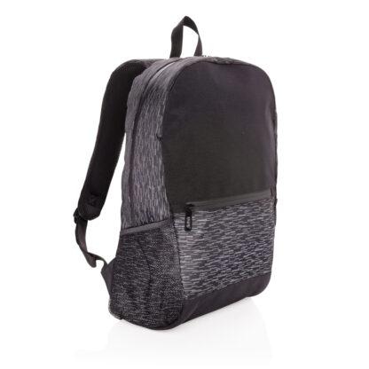 RPET reflekterande laptopryggsäck med AWARE™ spårämne