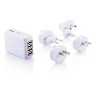Reseadapter med fyra USB-portar