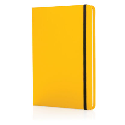 Standard anteckningsbok med hård pärm i PU