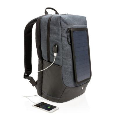 Swiss Peak Eclipse-ryggsäck med solcellspanel