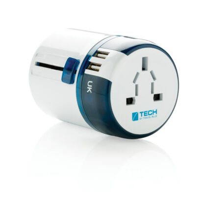 Travel Blue reseadapter med USB