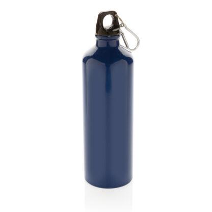 XL aluminium vattenflaska med karbinhake